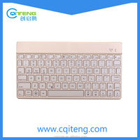Hot Selling Bluetooth 3.0 Aluminum Slim Keyboard For ipad