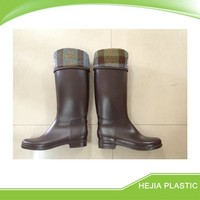 knee high rain boots for waterproof cycling high heel rain boots