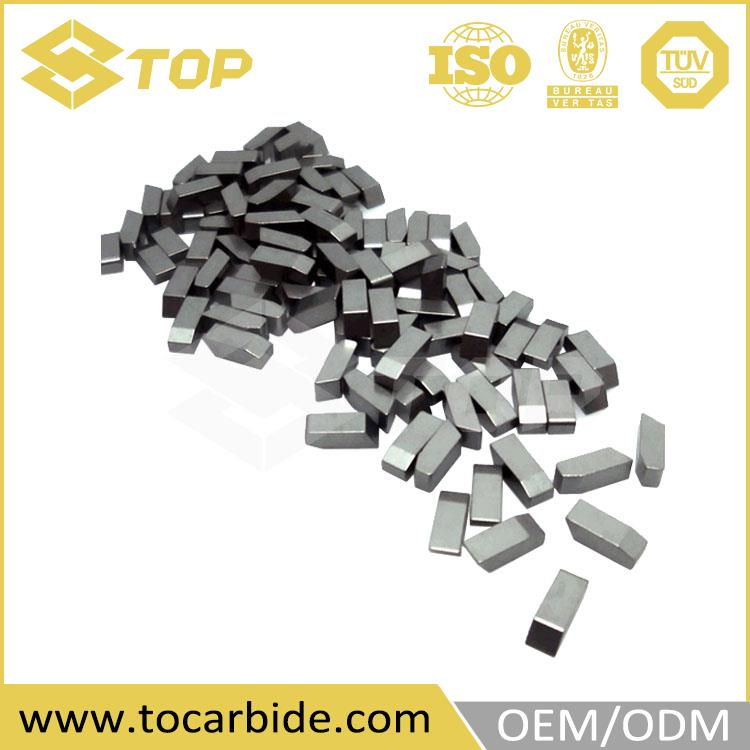 superior cemented carbide welding cutting blade tips, carbide brazed saw tips
