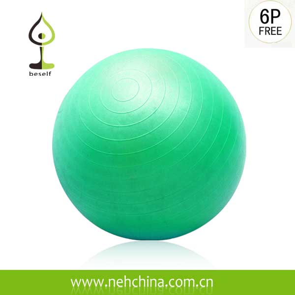 Blue Anti Burst Fitness Ball,Gym Ball,Yoga Ball