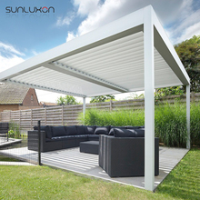 Waterproof Motorized Aluminum Gazebo Canopy