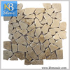 2016 hot selling cheap germany beige irregular marble mosaic tiles
