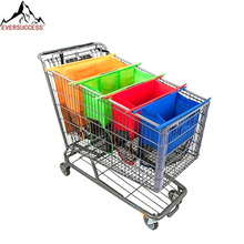 New Foldable Reusable Grocery Trolley Bag Cart Shopping Bags