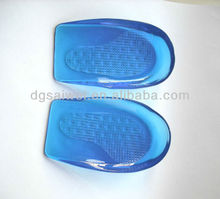 SW212 tpe Insoles Type and PE Material Nano insoles heel cup