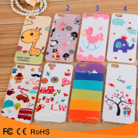 High quality 3D relief printed soft TPU mobile phone case for iphone5