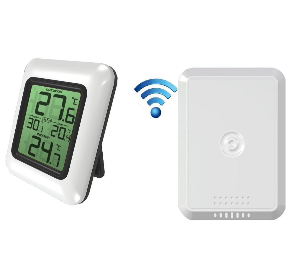 High Sensitivity wireless Indoor and Outdoor Thermometer temperature
