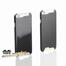 Black Carbon Fiber Cell Phone Case Cover For I phone 6