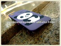 2012 New Arrival Panda Baby painting custom design phone cases