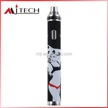 New design Variable voltage 3.3v-5.5v ego-t battery 1300mah 1600mah 900mah optional e cigarette battery latest patent invention