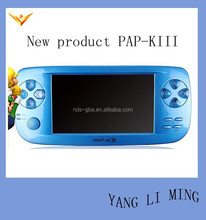 32GB 4.3 inch handheld game player cheap price with TV-OUT PAP-KIII