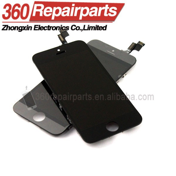 wholesale mobile phone parts for iphone lcd, lcd for iphone, for iphone 5s screen