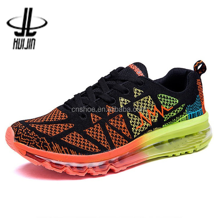 Huijin China Branded couple shoes air cushion used sneakers for sale