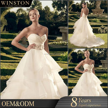 OEM manufacturers modest wedding gowns with sleeves
