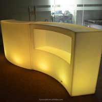 luminous bar counter/led tables/colorful coffee tables