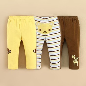 Boys Cotton Clothes Long Pants and Trouser for 2015 Spring Wholesale(14225)