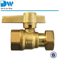 Forged Brass Ball Valves for water meter