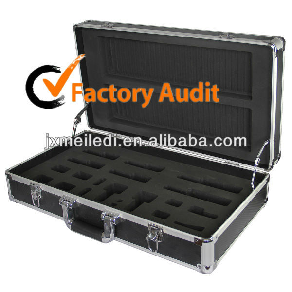 MLD-1649 Heavy duty Black Aluminium Tool Case with EVA insert