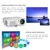 led lamp KTV movie bluetooth projector beamer