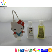Dongguan Factory Supply High Quality Cute Hello Kitty Antibacterial Hand Sanitizer Holders