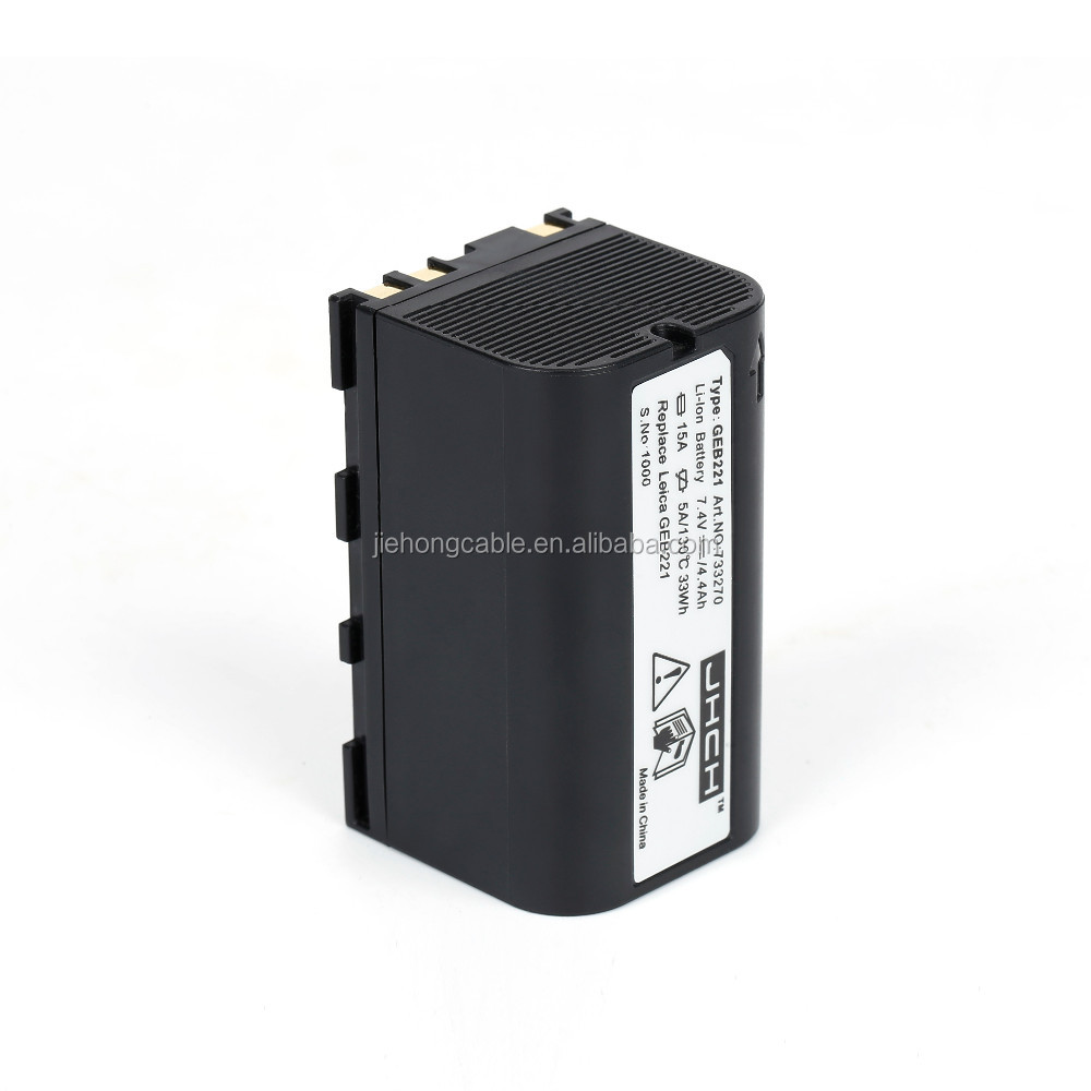 New GEB221 Li-ion battery for GPS900 GRX1200 GS20 PIPER 200 RX900 Piper 100/200 Laser,ATX1200 GPS1200 RX1200 TC1200 TPS1200