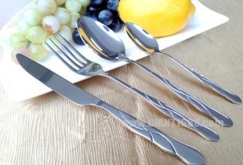 ... SetBuy Golden Cutlery Set,Stainless Steel Cutlery Set,Wedding Gift