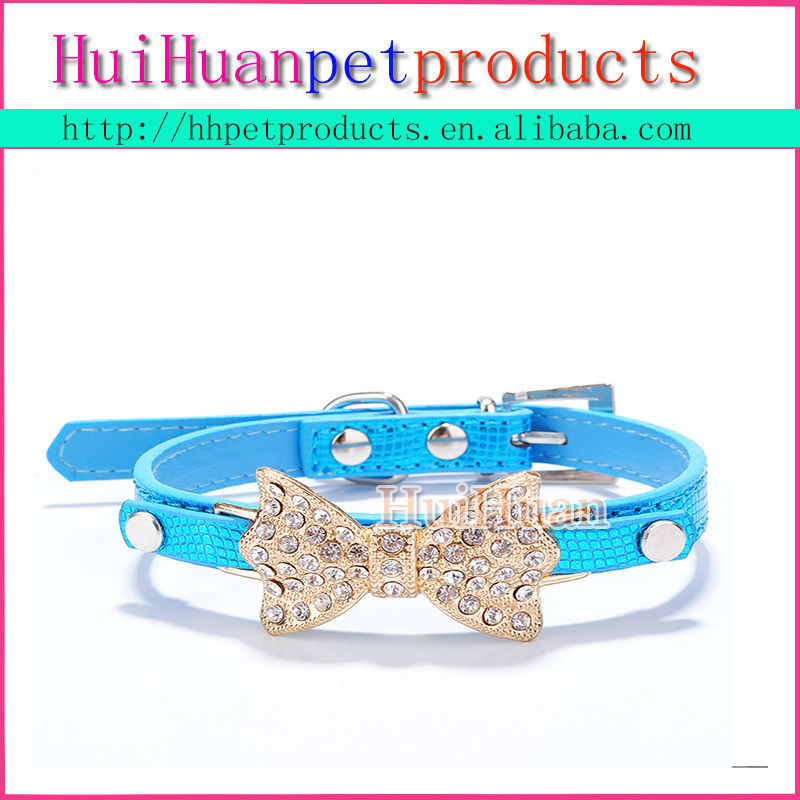 Wholesale pet supplies Bow Tie dog Collar
