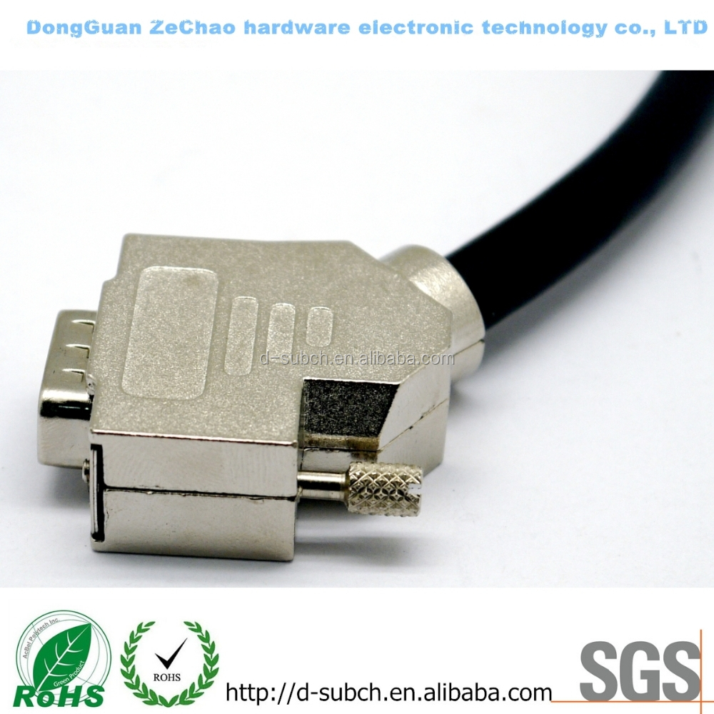 High quality with two ferrites db9 to vga cable