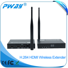 2017 Newest long range wireless HDMI video transmitter and receiver 50M with IR with loop output up to 1080P@60Hz