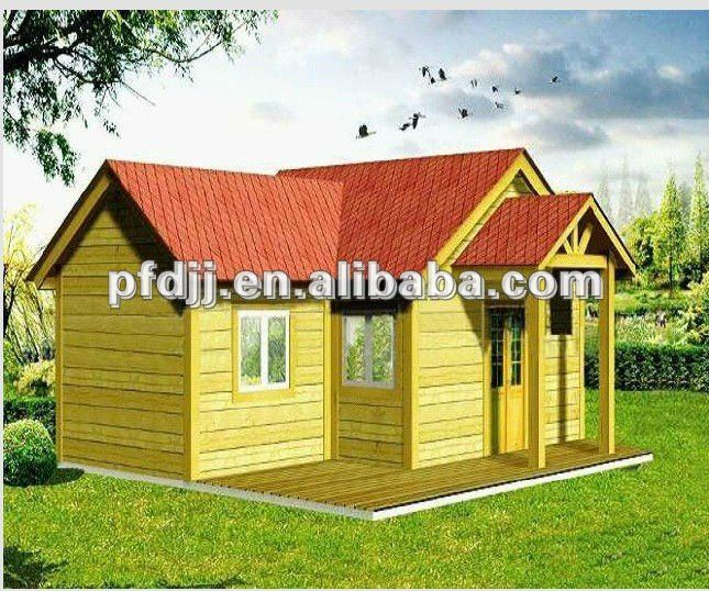 movable high quality comfortable prefab wooden villa