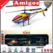 kid's 2.4 g channel RC helicopter/30 m/7 mIN/last blade/screwdriver/light/camara 3 CH helicopter toy factory