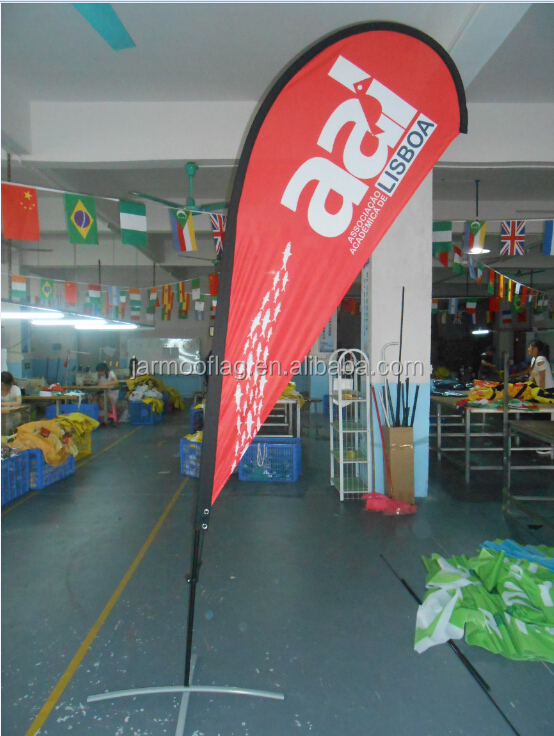 printed advertising feather flag,knife flag,swooper flag