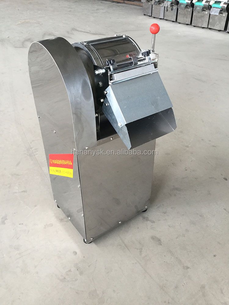 2mm / 3mm 8mm Thickness Industrial Potato Fries Cutting Slicing Slicer Shreeder Machine in Restaurants