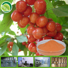 Cosmetic material acerola cherry extract