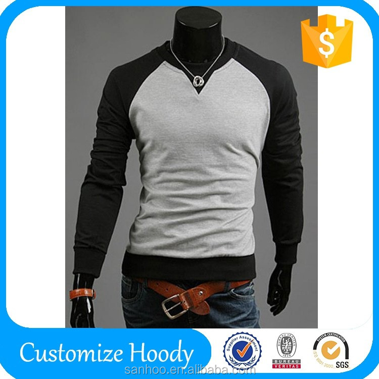 Made in China Mens Crewneck Custom Sweatshirt With Custom Logo