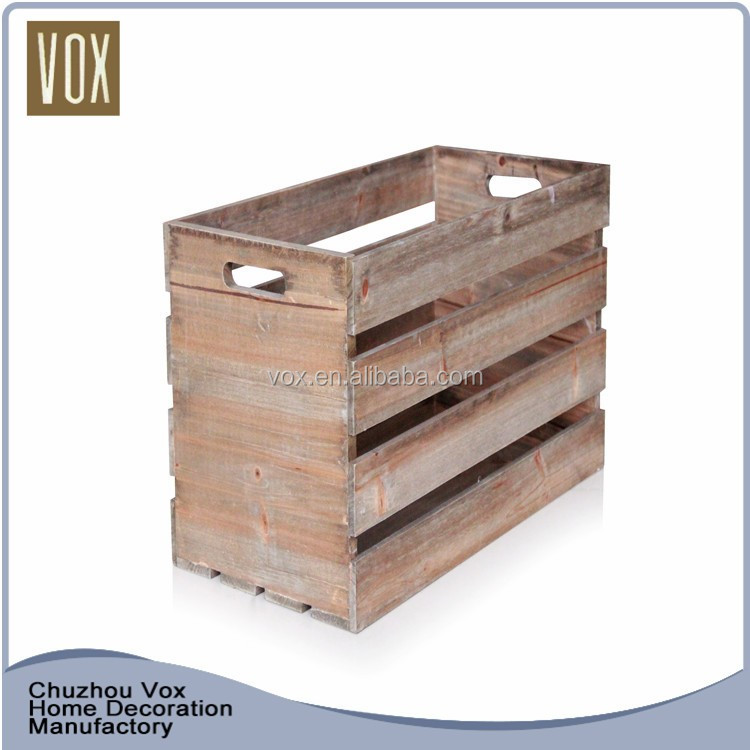 new products 2016 Custom made wooden crate for storage