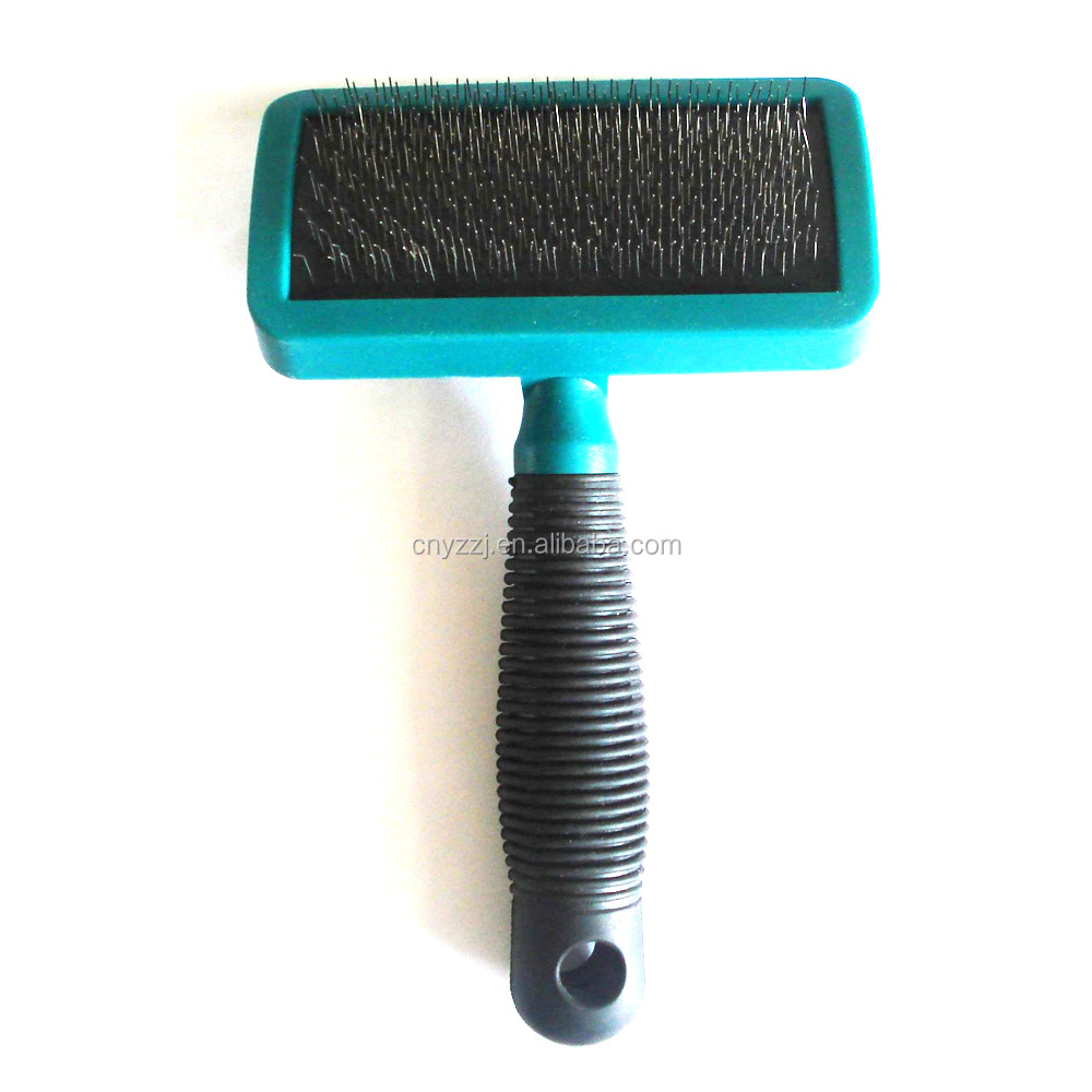 Self Cleaning Double Face Pet Brush Comb Tool Dog Grooming & Cats Pet Massage Brush