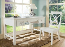 Solid wood office table, cheap price office table of new design