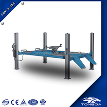 2018 hot selling TONGDA TDY 4 35C four POST car LIFT cheap car lifts homemade car lift
