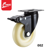 2.5 inch Double ball bearing strong nylon caster wheels