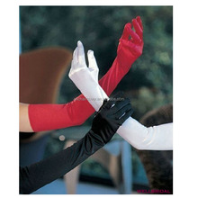 Plain Long Satin Gloves Wedding Gloves Bridal Gloves