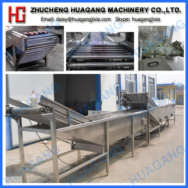 Full automatic food pasteurization machine