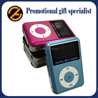 Hot Promtional gift Mini mp4 with LCD Screen /package /card slot in good quality