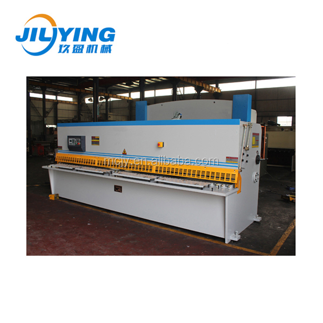 qc12yk Hydraulic angle iron shearing cutting machine for 13ft metal sheet plate