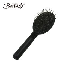 Factory wholesale stainless steel pins detangling cushion hair brush