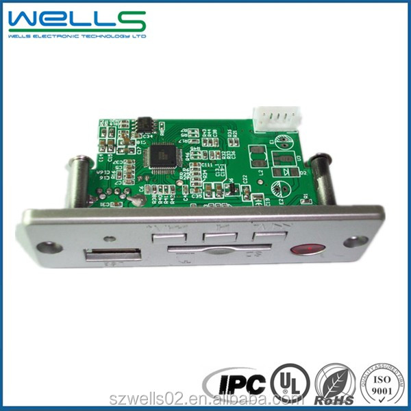 Immersion gold/Silver/Tin 94v0 Rohs pcb board supplier