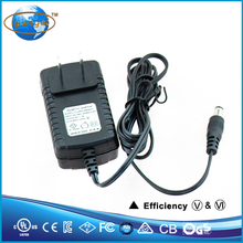 factory good price wall plug ac dc 24V 1.5A power adapter energy efficiency 6 UL listed