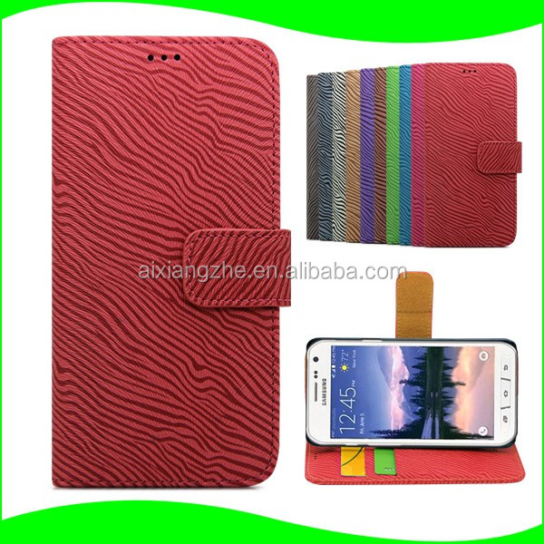 zebra leather case cover for samsung galaxy pop shv e220s,wallet back cover for zte maven,flip housing for Huawei U8510 Ideos X3