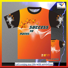 wholesale t shirts sublimation printing Polyester,Nylon ,spandex