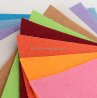 15081402 China wholesale 100% Polyester Material Non woven Felt Fabric