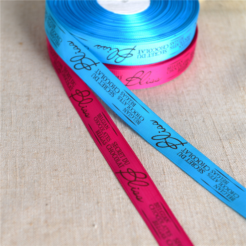 Wholesale Custom Printed Ribbon With Logo